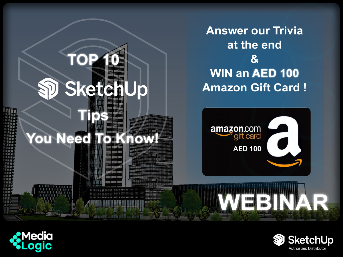 WEBINAR: Top 10 SketchUp Tricks You Need to Know! (April 14th, 2021)