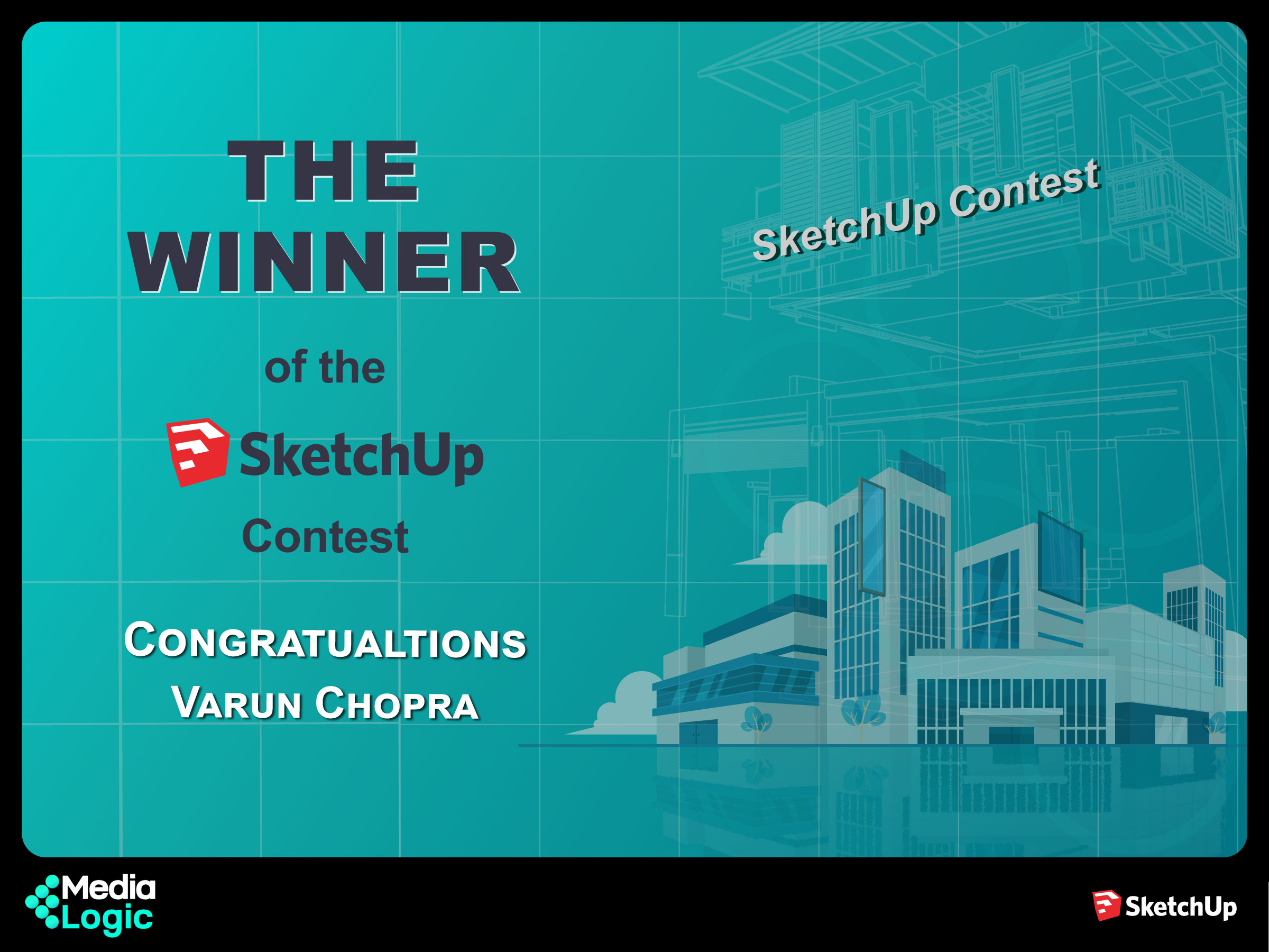SketchUp Contest - We have a WINNER !