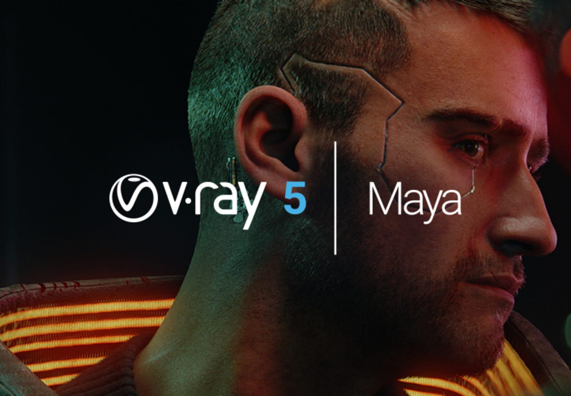 JOIN THE V-RAY 5 FOR MAYA BETA