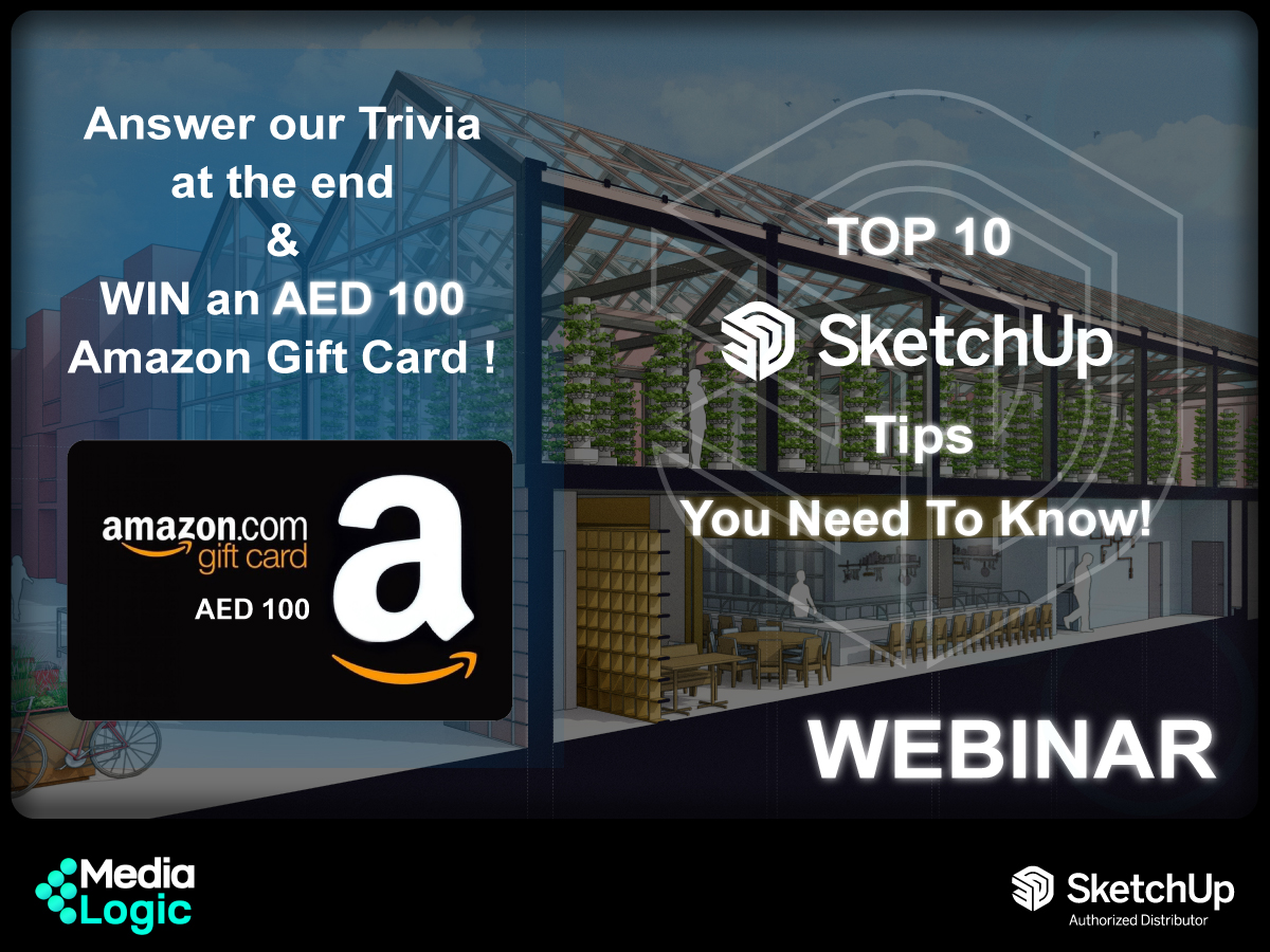 WEBINAR: Top 10 SketchUp Tips You Need to Know! (April 14th, 2021)