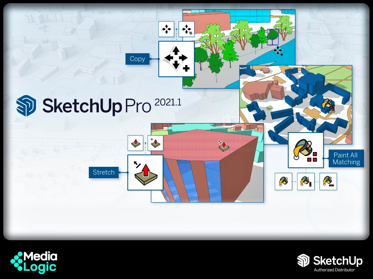 (1) New updates in SketchUp Pro 2021