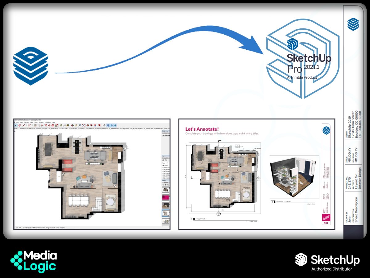 (3) New updates in SketchUp Pro 2021