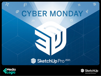 SketchUp Pro 2021 - Cyber Monday Offer (Till Dec 3rd ONLY!)